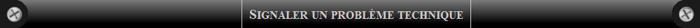 Problème technique
