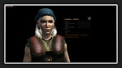 Lady Hawke personnalisable
