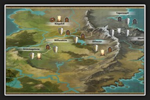 carte du monde (Ctr + M)