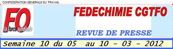 FEDECHIMIE CGTFO -semaine10