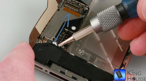 Deconnexion de l antenne de l iphone 4