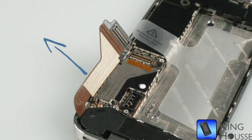 Pliage de la nappe de l'iPhone 4