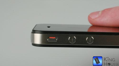 Passage de l'iPhone 4 en mode vibreur