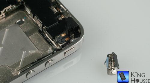 Vibreur iPhone 4 deposé