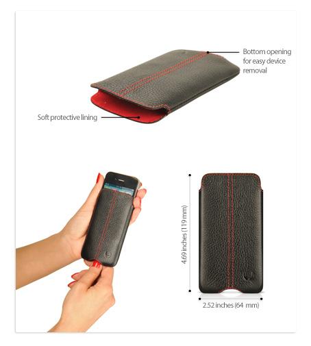 Serie Zero Housse iphone 4S