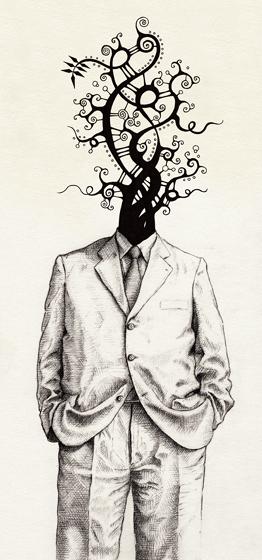 dessin illustration crayon feutre papier