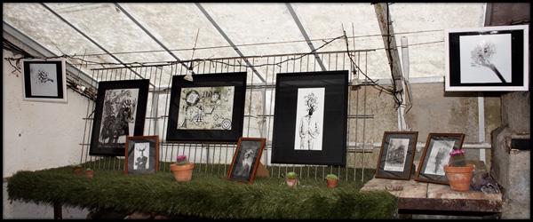 Exposition aux Esserres - Mai 2010