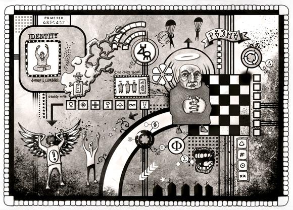 illustration dessin art numerique vectoriel