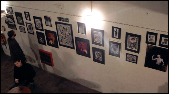 exposition collective art dessin photographie video