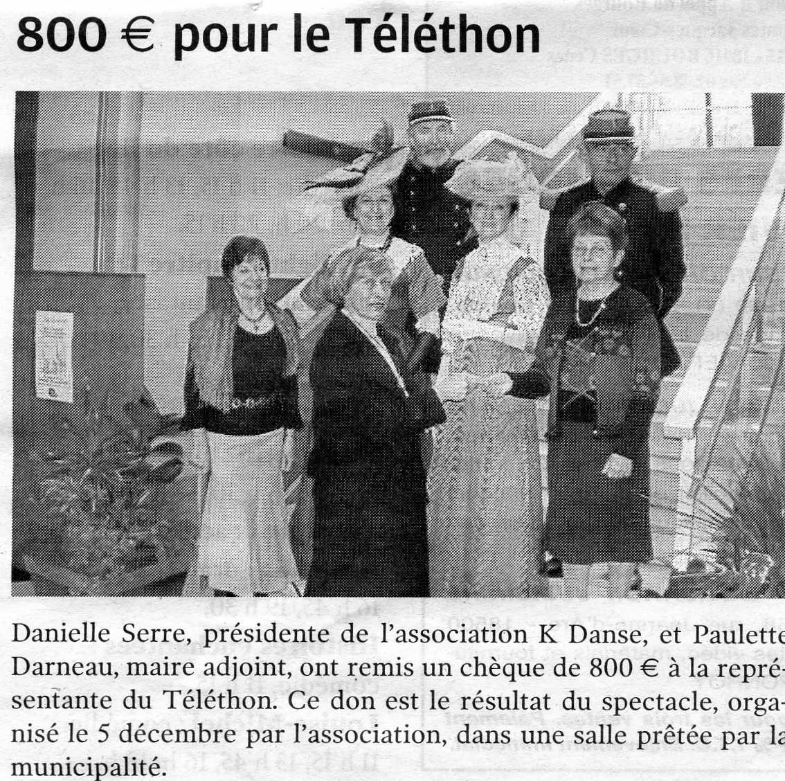 Téléthon 2008
