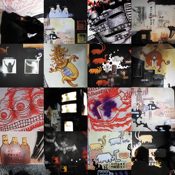 residence collectif artistes