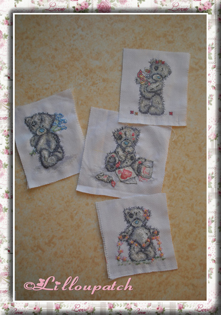 Broderie de la housse de couette / Tatty Teddy