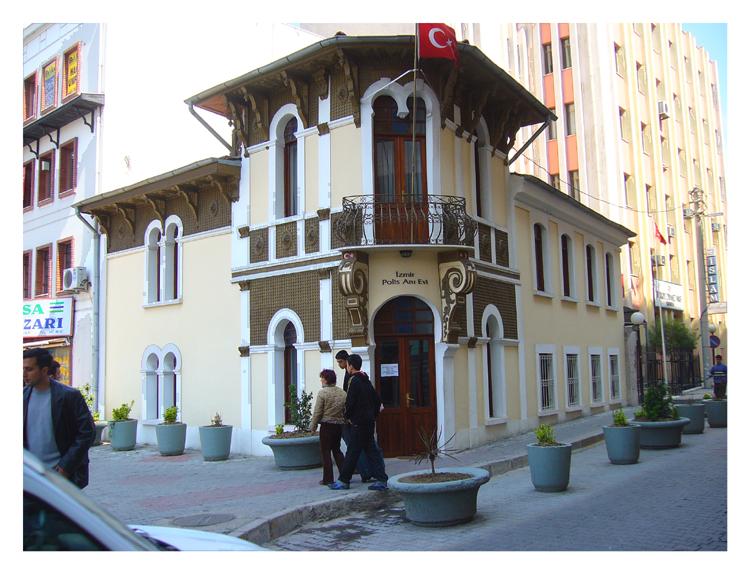 Antenne de police à Izmir