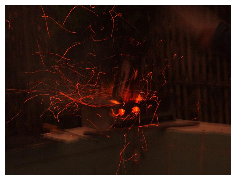 Explosions de l' Etna
