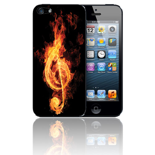 iPhone 5 Music On Fire