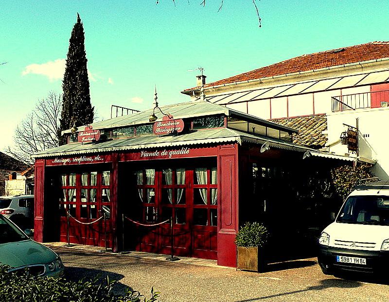 Coustellet-Luberon-Resto-Maison Gouin-Fev2009