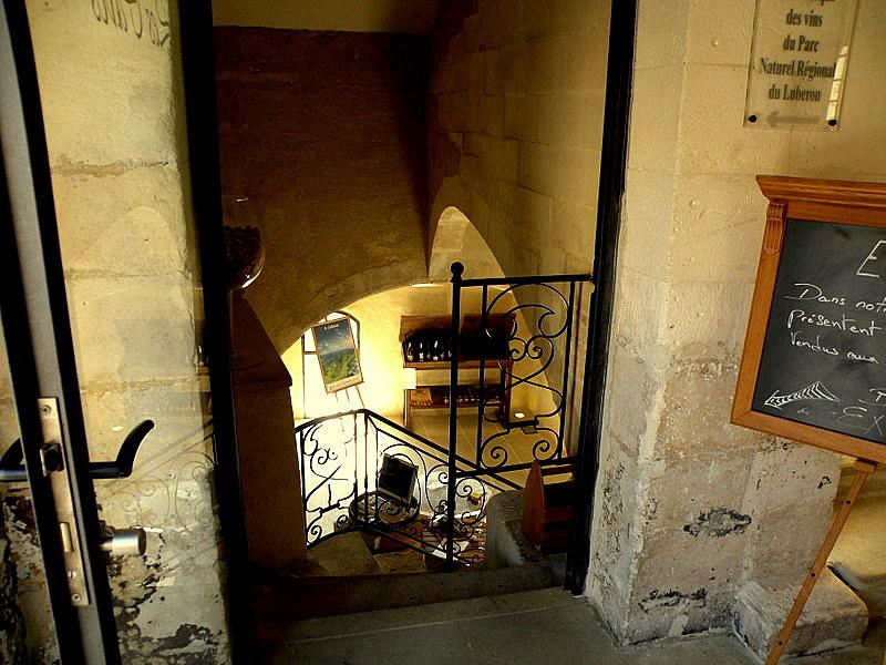 Menerbes-Le musée de la Truffe- L'ancien Hospice-Fev2009