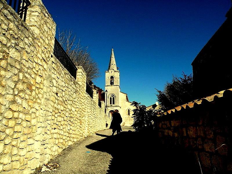 Monieux en Vaucluse