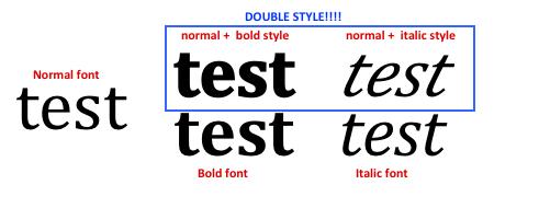 Font Bug