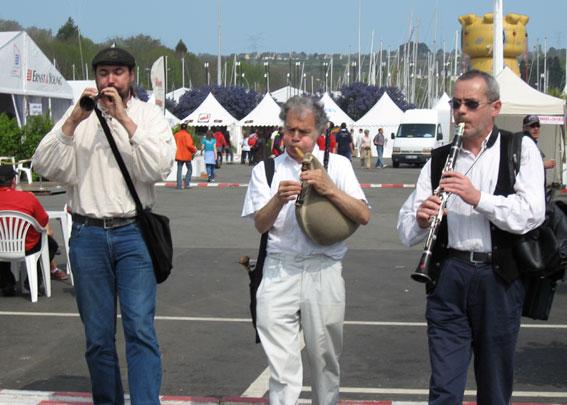 Trio bombarde / biniou / clarinette