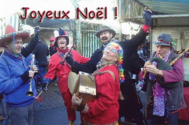 Les Sonneurs Tchok vous souhaite un Joyeux Noël
