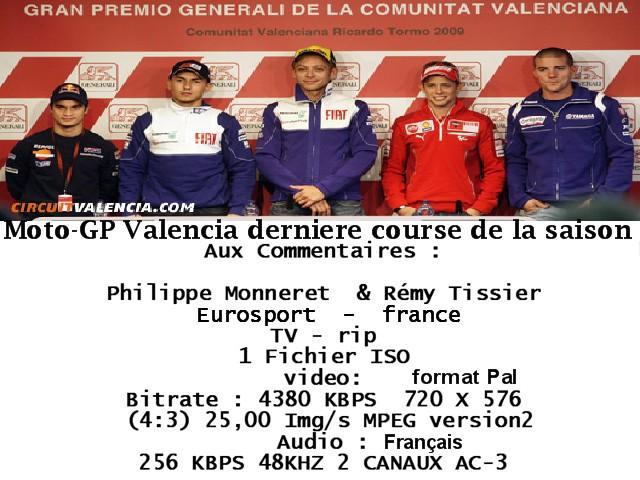 Moto gp  Valencia Grand Prix 09 (www Quebec team Net) preview 0