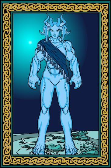 Tristan, dessinateur affable Demone