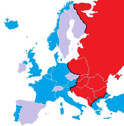 Le Métaverse - Introduction et Âge d'Or Europe_et_rideau_de_fer_1946