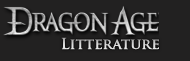 dragon age litterature