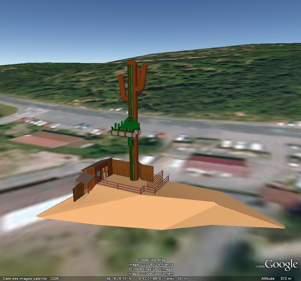 Fraispertuis city sur google earth Cactus
