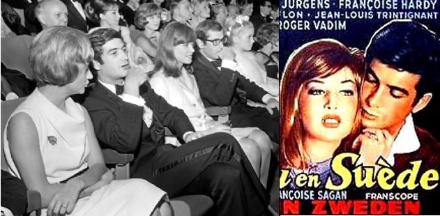 Souvenir avec Françoise Hardy : le 20 novembre 1963 Chateauensuede