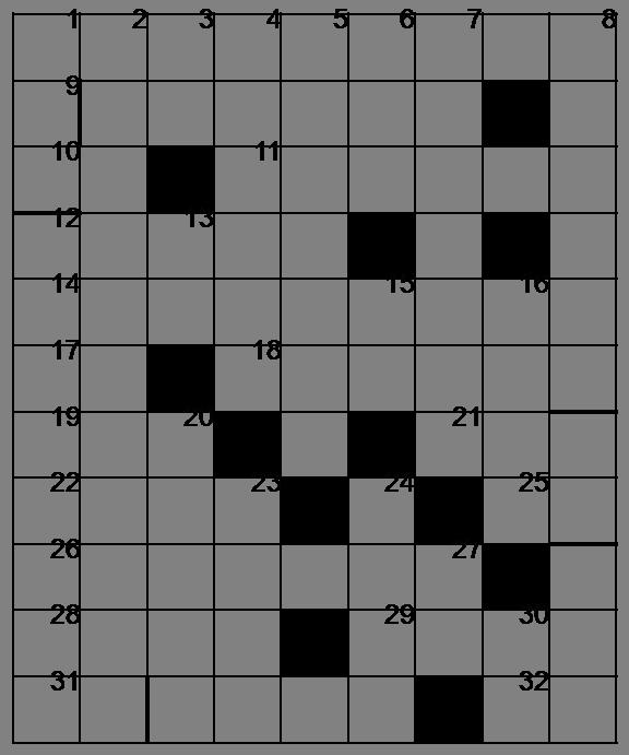 Mots croisés - Grille du 22 avril 2009 Image1