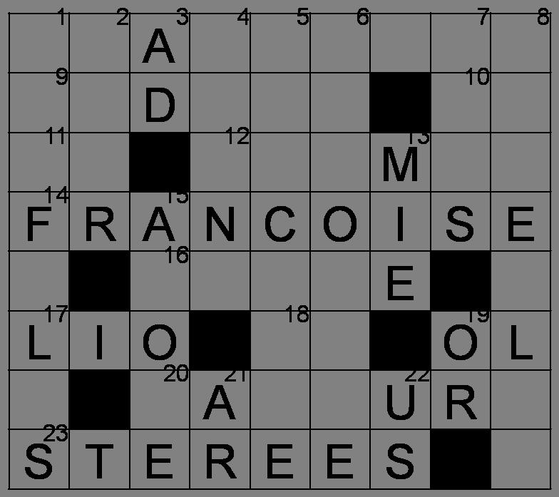 Mots croisés - Grille du 2 mai 2009 Image14