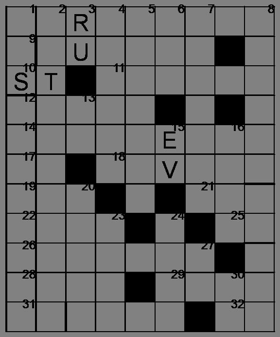 Mots croisés - Grille du 22 avril 2009 Image2
