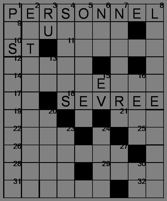 Mots croisés - Grille du 22 avril 2009 Image3