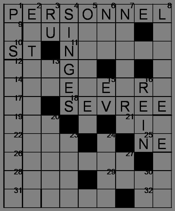 Mots croisés - Grille du 22 avril 2009 Image4