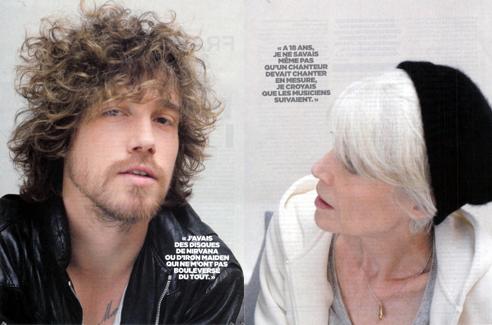 Françoise Hardy et Julien Doré par Libération (3ème extrait) Liberation_98