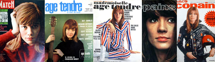 Françoise Hardy dans les Inrockuptibles (2ème extrait) Magazines