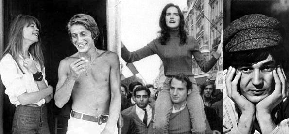 Platine 156 - Interview de Françoise Hardy (11ème extrait) Mai1968_140