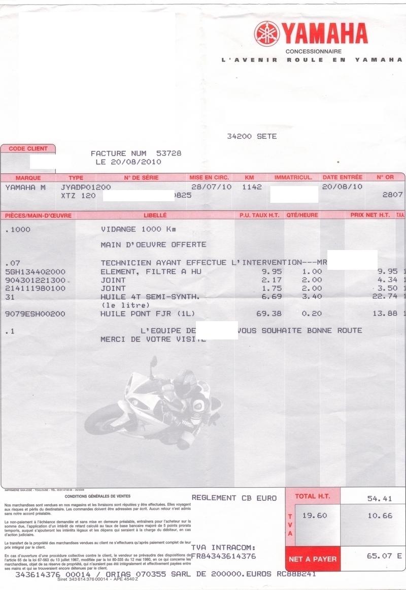 Révision des 10 000 km de la xT1200Z - Page 2 Revision_1000_kms