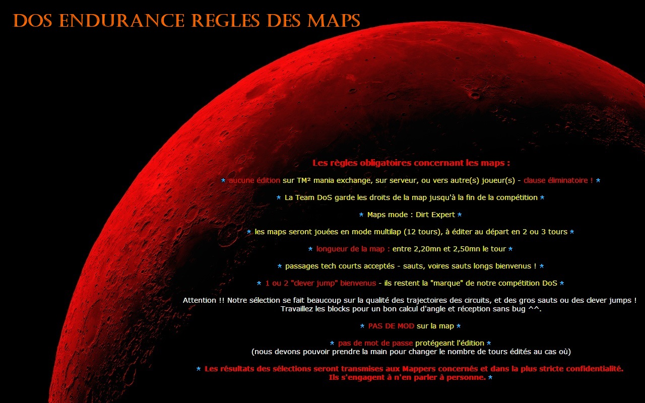 Maps Recruitment (ENG + FR) Maps_rules_FR