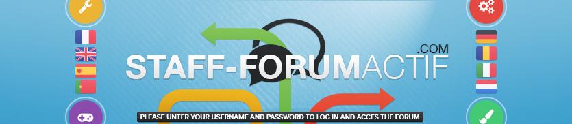 Staff Forumactif