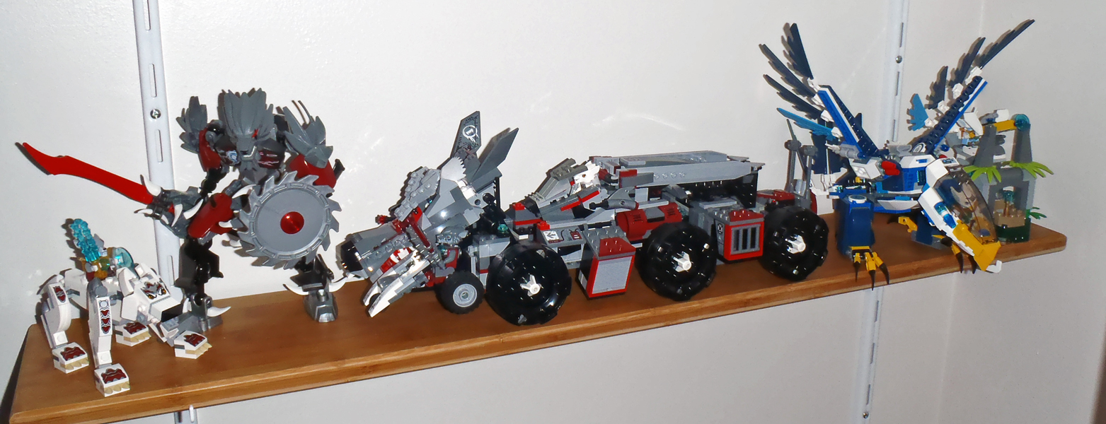 Cerberus Collection - Hell yeah! Collection-mars-2014-Lego-Chima-1