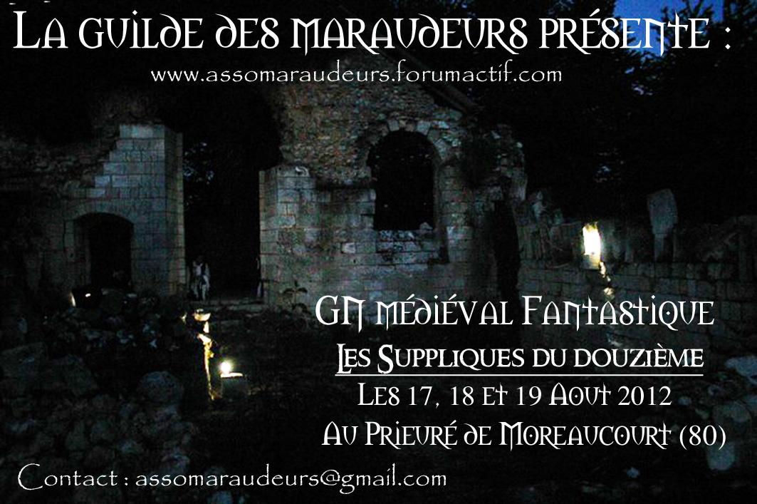 GN Guilde des Maraudeurs 17 18 et 19 Aout 2012 Pubgn2012